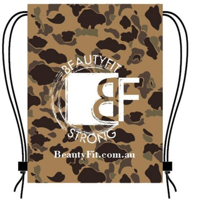 Waterproof Camouflage Drawstring Back Pack | BeautyFit® Australia