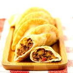 Load image into Gallery viewer, RELAUNCH EMPANADAS BUNDLE (BEEF + FLORENTINE + VEGGIE + M'CHIMI SAUCE + FREE SHIPPING)