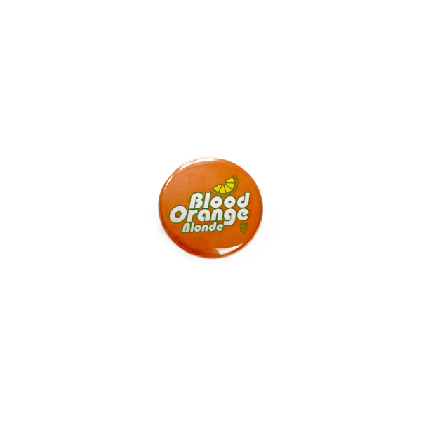 FDR Blood Orange Blonde Button