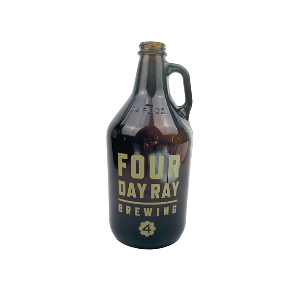 FDR Glass Growler
