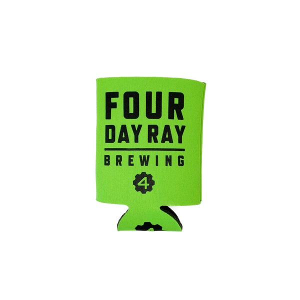 FDR Neon Green Flat Beverage Holder