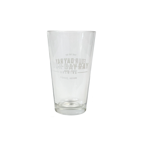 FDR Shaker Pint Glass