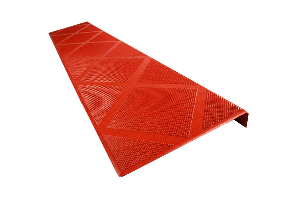 ComposiGrip Non Slip Stair Tread - Brick Red 48