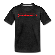 Load image into Gallery viewer, Need Insulin - Kids' Premium T-Shirt - charcoal gray