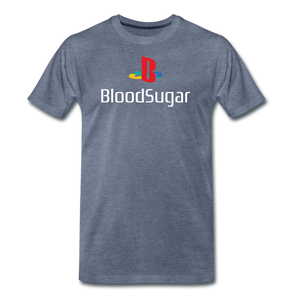 Blood Sugar - Men's Premium T-Shirt - heather blue