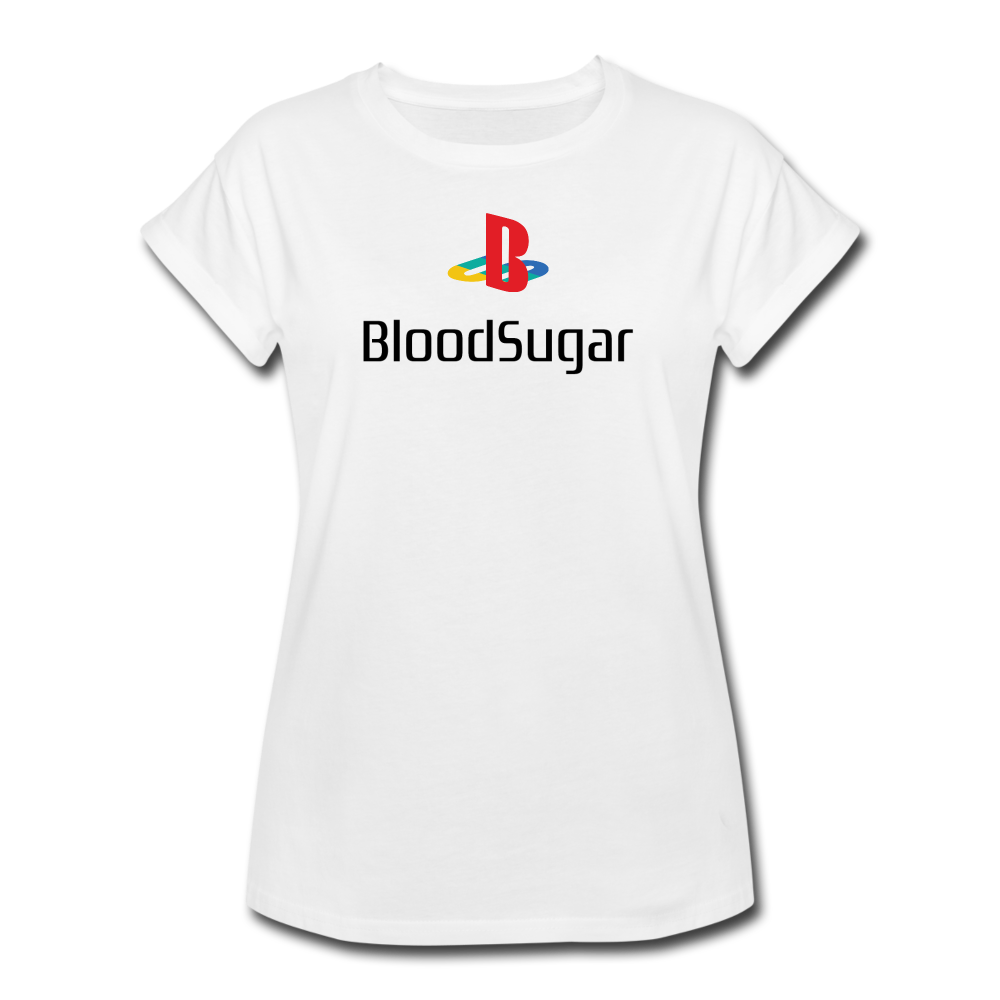 Blood Sugar - Women's Relaxed Fit T-Shirt - white