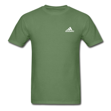 Load image into Gallery viewer, Diabetic + Strips - NDAM Men's Gildan Ultra Cotton Adult T-Shirt - military green