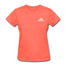 Load image into Gallery viewer, Diabetic + Strips - NDAM Women's T-Shirt - heather coral