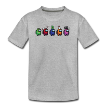 Load image into Gallery viewer, Blood Sugar Kinda Sus - Kids' Premium T-Shirt - heather gray