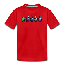 Load image into Gallery viewer, Blood Sugar Kinda Sus - Kids' Premium T-Shirt - red
