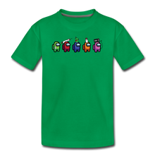 Load image into Gallery viewer, Blood Sugar Kinda Sus - Kids' Premium T-Shirt - kelly green