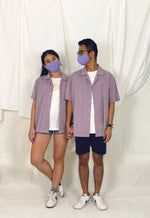 Load image into Gallery viewer, Lavender Cuban Shirt