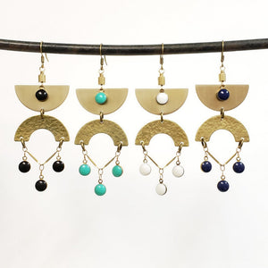 Egyptian Eye Earrings - More Colors Available