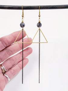 Triangle Duster Earrings