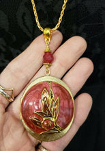 Load image into Gallery viewer, Vintage locket necklace cloisonne enamel - two OOAK styles available