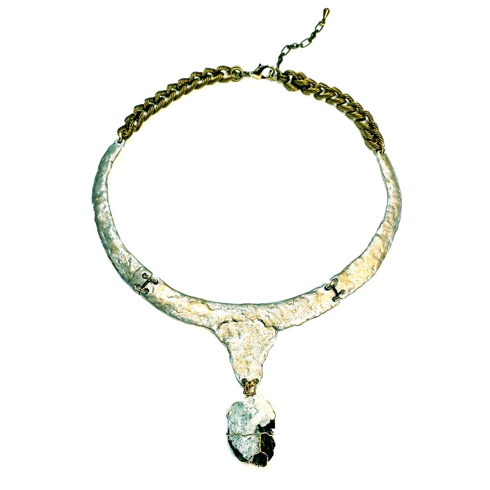 Aries green tourmaline collar