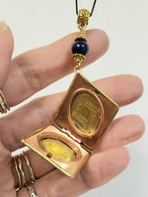 Load image into Gallery viewer, Vintage Diamond locket necklace