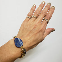 Load image into Gallery viewer, Lapis Multichain layered bracelet