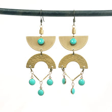 Load image into Gallery viewer, Egyptian Eye Earrings - More Colors Available