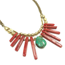 Load image into Gallery viewer, Coral Collar Necklace