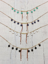 Load image into Gallery viewer, Pailette Fringe Necklace - more colors available