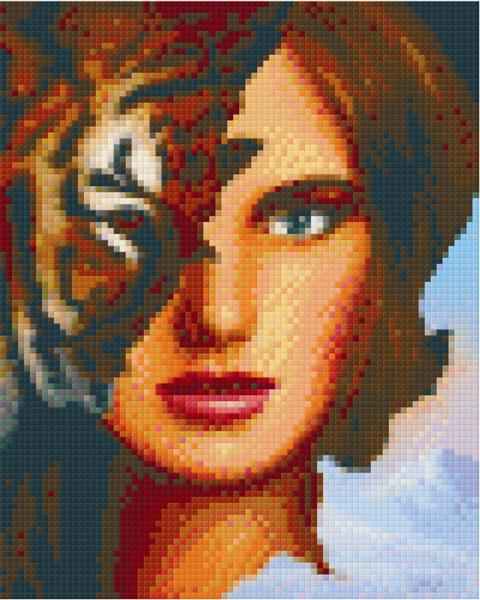 Pixelhobby Klassik Set - Tiger Woman