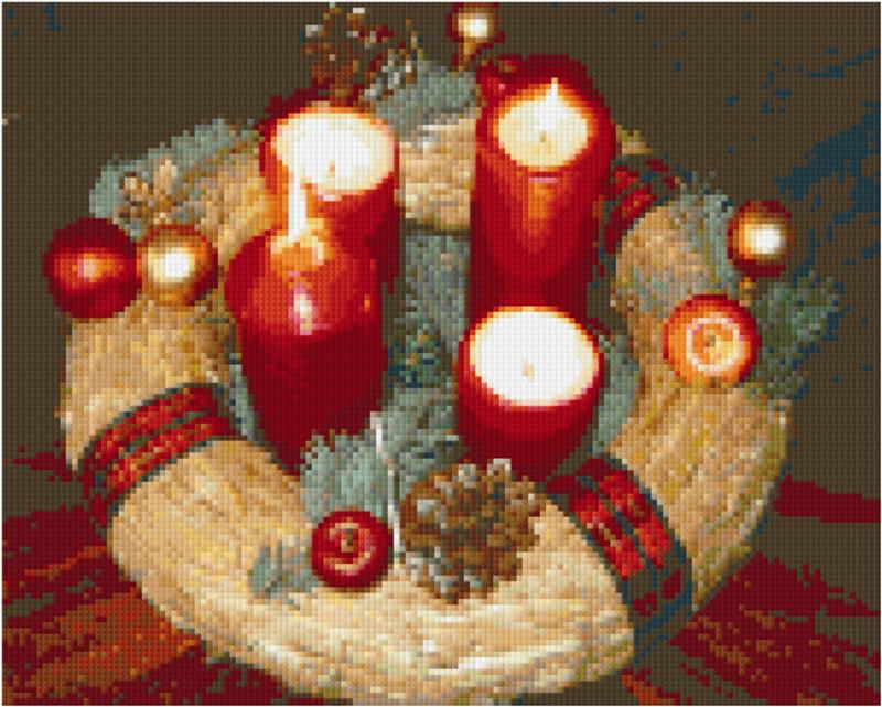 Pixelhobby Klassik Set - Adventskranz