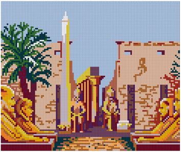Pixelhobby Klassik Set - A day in Luxo-Egypt