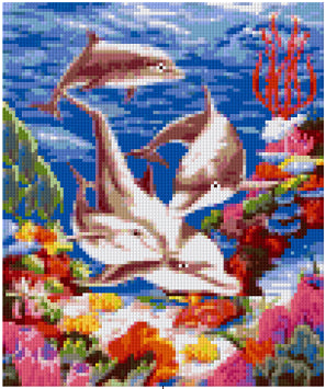 Pixelhobby Klassik Set - Dolphin World