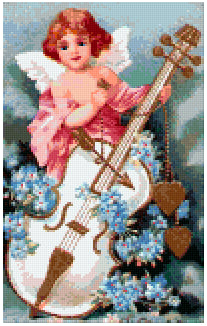 Pixelhobby Klassik Set - Angels give Music