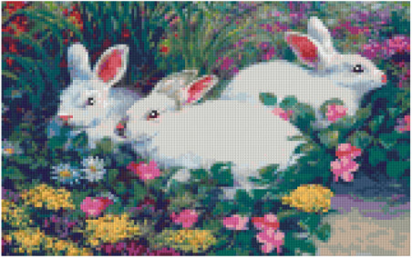 Pixel Klassik Set - The Bunnies are back