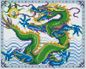 Pixelhobby Klassik Set - Dragon of the Sea