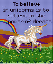 Pixelhobby Klassik Set - Unicorn Dream