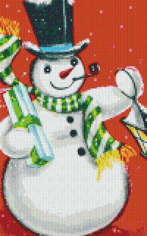 Pixelhobby Klassik Set - Snowman and Gifts