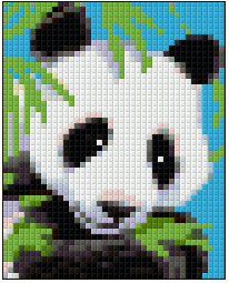 Pixel Klassik Set - Little Panda