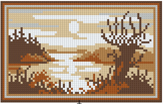 Pixelhobby Klassik Set - Soft Brown Lake