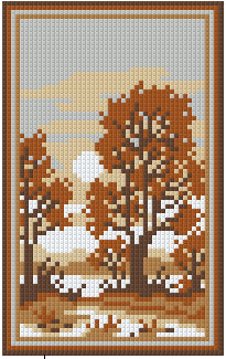 Pixelhobby Klassik Set - Soft Brown River