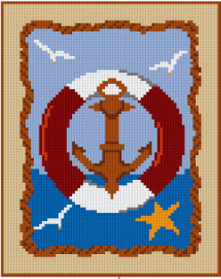Pixelhobby Klassik Set - Nautical Sign