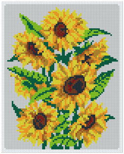 Pixelhobby Klassik Set - Sunflower