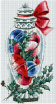 Pixelhobby Klassik Set - Vase of Ornaments