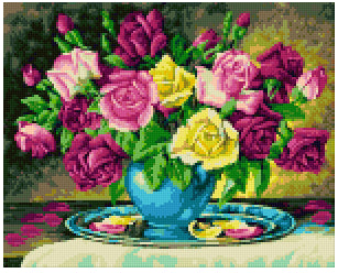 Pixelhobby Klassik Set - Barrock Rose