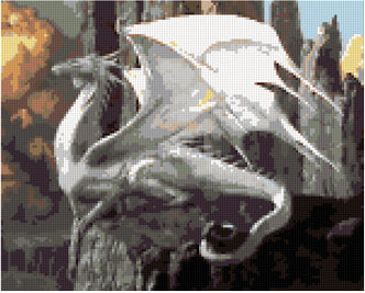 Pixelhobby Klassik Set - White Dragon