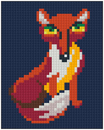 Pixel Klassik Set - The Fox