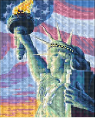 Pixelhobby Klassik Set - Liberty Shine