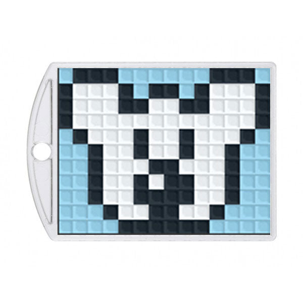 Pixelhobby Medaillon Set - Pinguin