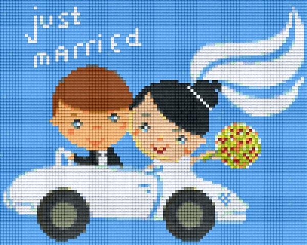 Pixel Klassik Set - Just Married
