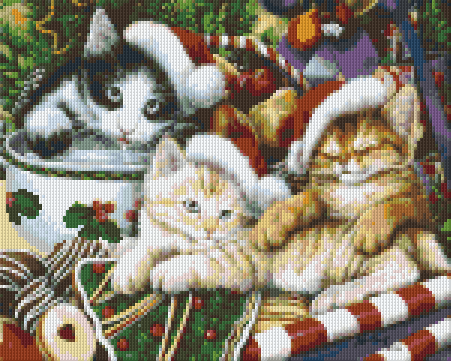 Pixel Klassik Set - Merry Christmas