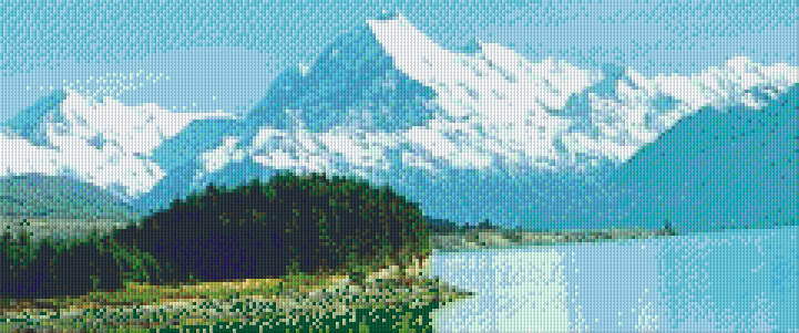 Pixelhobby Klassik Set - Mount Cook