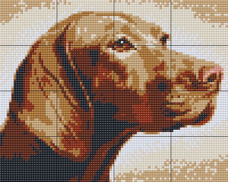 Pixelhobby BIG XL Set - Hund