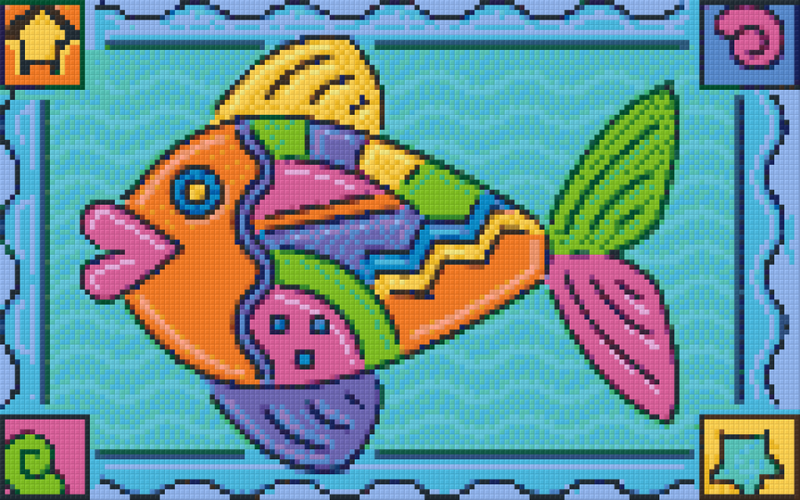 Pixel Klassik Set - Color Fish